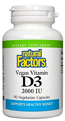 Vegan Vitamin D3 2,000 IU Natural Factors 90 VCaps Review
