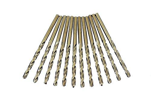 64 135 Degree Drill Bit - TEMO 12pc 9/64 inch Cobalt 135-Degree Jobber Drill Bit 5 inch Length