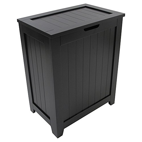 Redmon Contemporary Country Laundry Hamper, - Hamper Tilt Out