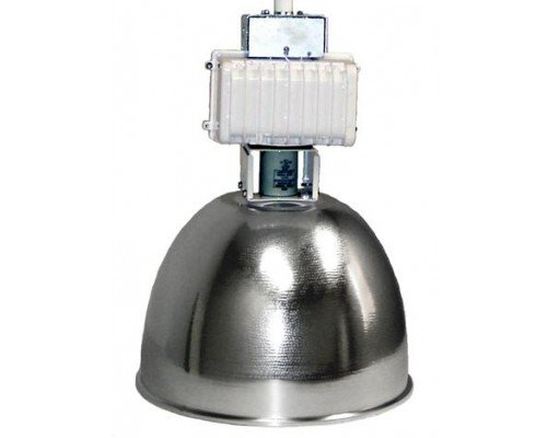 Ark Lighting High Bay No Lens AHB11-ALU16-NL 400W MH/PS 400W Metal Halide Quad Tap Pulse Start ()