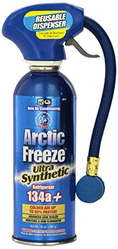 [해외]Interdynamics Arctic Freeze R-134a 재사용 가능한 디스펜서가있는 초 합성 냉매/Interdynamics Arctic Freeze R-134a Ultra Synthetic Refrigerant with Reusable Dispenser