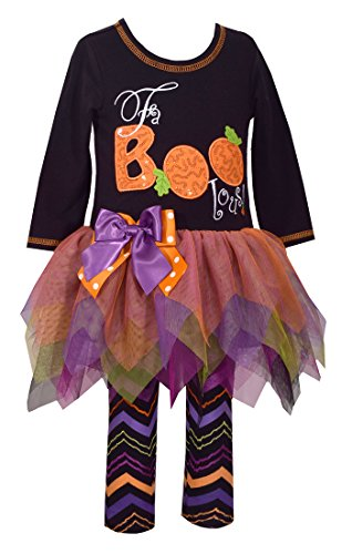 Bonnie Jean Girls' Toddler Appliqued Tutu Playwear Set, Faboolous, -