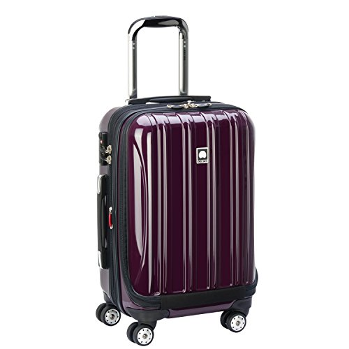 DELSEY Paris Small Carry-On, Plum Purple