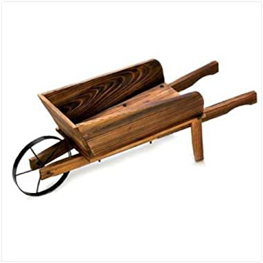 Home Locomotion 10013843 Country Flower Cart Planter