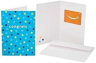 Amazon.com Gift Card in a Greeting Card (Congrats Stars Design) (B0773CMYVJ) | Amazon price tracker / tracking, Amazon price history charts, Amazon price watches, Amazon price drop alerts