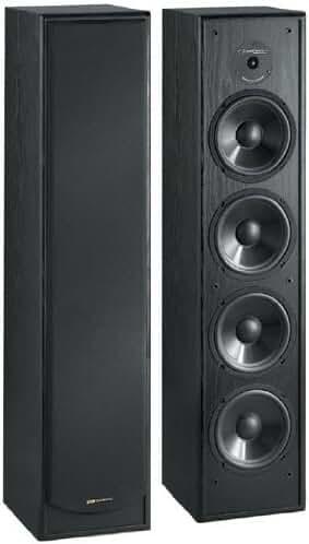 BIC America Venturi DV64 2-Way Tower Speaker, Black (Single)