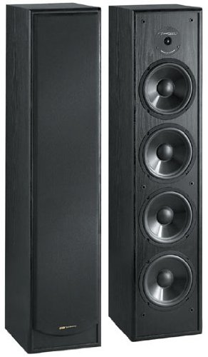 BIC America Venturi DV64 2-Way Tower Speaker, Black (Single) by BIC America