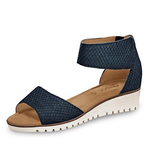 Gabor - Sandalias de vestir para mujer Azul - nightblue