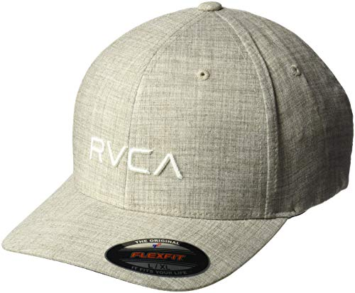 RVCA Men's Flex FIT HAT, Khaki, L/X