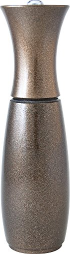Fletchers' Mill Border Grill Design Salt Mill, Metallic Copper - 8 Inch Mario Batali Salt Mill