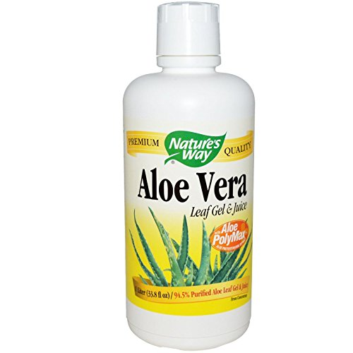Nature's Way Aloe Vera Gel and Juice 1 L [Pack of 6]