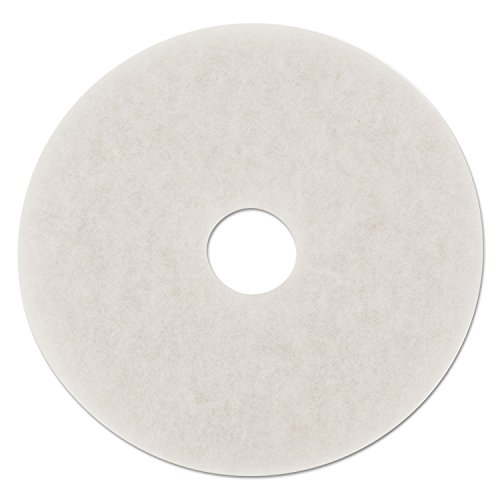 - Boardwalk BWK4018WHI Standard Polishing Floor Pads, 18