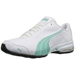 PUMA Women's Super Elevate Wn's Cross-Trainer Shoe, White/Holiday, 8 M US