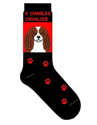 Cavalier King Charles Socks Crew Style Unisex