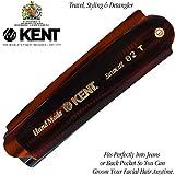 "Kent 82T 4"" Handmade Folding Pocket Comb for"