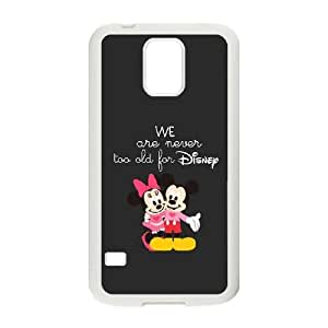 Disney Mickey Mouse Minnie Mouse-003 For samsung galaxy s5 Cell Phone Case White Cover xin2jy-4355111