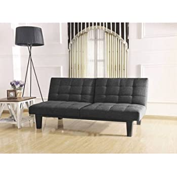 Amazon Com Tweed Memory Bc 281 Foam Futon Split Seat