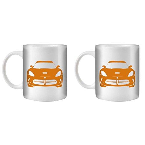 stuff4-tea-coffee-mug-cup-350ml-2-pack-orange-viper-gts-white-ceramic-st10