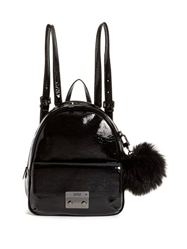 GUESS Varsity Pop Small Patent Backpack