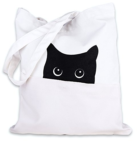 Cat Canvas Tote