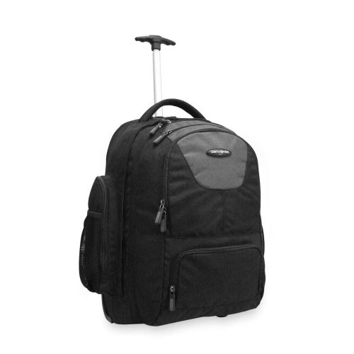 Wholesale CASE of 3 - Samsonite Wheeled Backpack-Wheeled Backpack,w/Organizational Pockets,14''x8''x21'',Black by SMSL