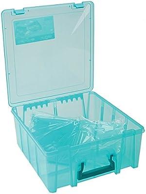 ArtBin 6945AB Super Satchel Cartridge and Tool Storage 2 x 14 x 15-Inch Clear
