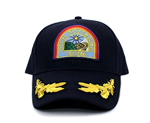 NOSTROMO Alien USCSS Movie Hat Appliqué Patch Cap Navy