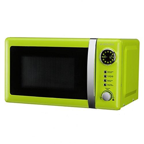 Jocel JMO001337 Microondas verde, 700 W, 20 litros, Aluminio ...