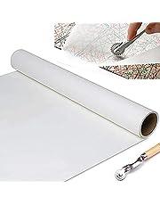 TOKO-Kurzwaren 10143 - Patroonpapier blanco rol - 10m, Wit