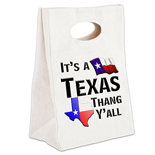 CafePress - Its A Tx Thang Yall - Canvas Lunch Tote, Lunch Bag