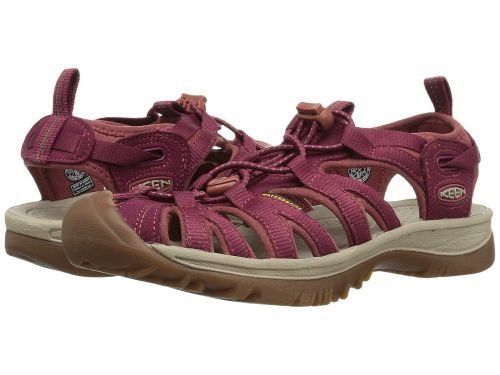 Keen(キーン) レディース 女性用 シューズ 靴 サンダル Whisper - Rhododendron/Marsala 9 B - Medium [並行輸入品]
