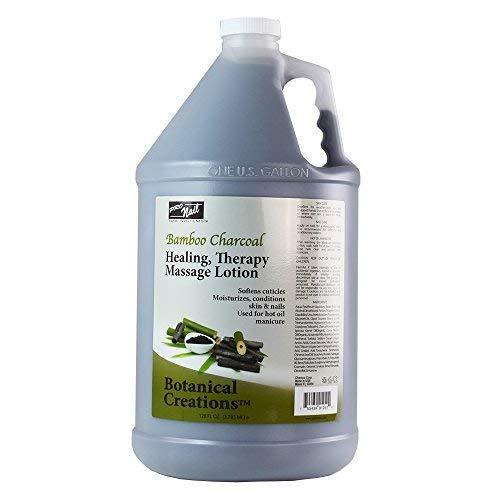 Pro Nail Botanical Massage Lotion Therapy (NEW - Bamboo Charcoal, 1 Gallon)
