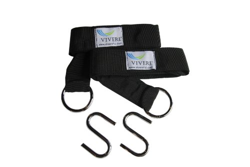 Vivere EFHTS Eco-Friendly Hammock Tree Straps, 2-Pack