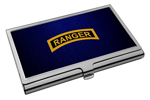 Business Card Holder - US Army Rangers (Airborne), tab by ExpressItBest