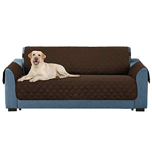 E-Living Store Z01685 Reversible Furniture Protector with 2 Inch Elastic Strap, Machine Washable, Perfect for Pet and Kids, Seat Width Up to 54