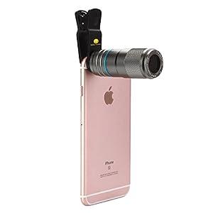 Amazon.com: iPhone 7 Camera Lens, 12X Zoom Universal