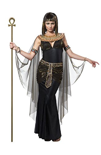 [8eighteen Ancient Egyptian Cleopatra Pharaoh Queen Adult Costume] (Pharaoh Adult Mens Plus Size Costumes)