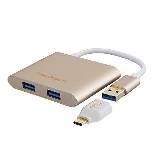 CableCreation 4 Port Aluminum Adapter MacBook product image