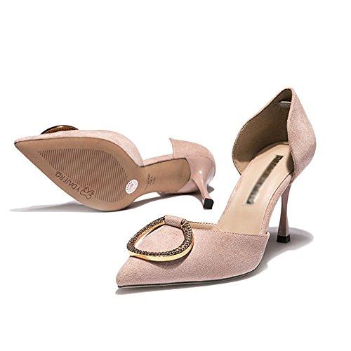 D'été Hauts Pink Yra Stilettos Femmes Shoes Printemps Wild Talons Des Red Chaussures Palace Party Femmes xtqrnXqw6