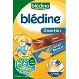 Blédina Blédine eveil dosette cacao saveur biscuitée 12 x 20 g dès 6 mois