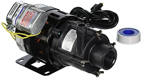 Little Giant 583603 5-MD-HC 1/8 HP, 1050 GPH @ 1' - Magnetic Drive Pump, 6' Power (115v Magnetic Drive Pump)