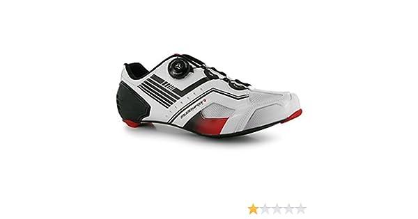 Muddyfox Hombre Rbs Carbon Zapatillas De Ciclismo Blanco/Negro/Rojo EU 41 (UK 7): Amazon.es: Zapatos y complementos