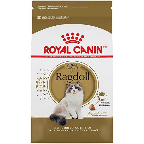 Royal Canin Ragdoll Breed Adult Dry Cat Food, 7 lb. (Cat Canin 7 Royal Food)