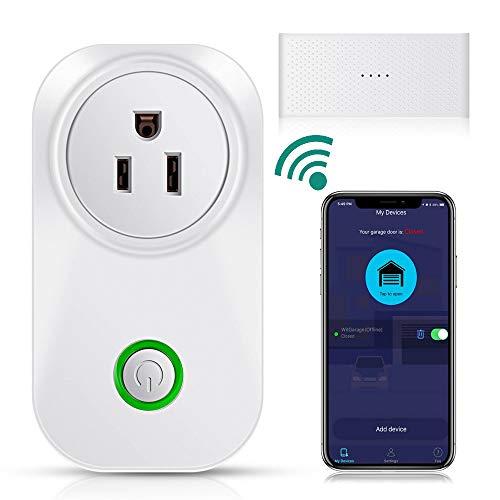 TAOPE Smart WiFi Garage Door Opener Remote Controller Compatible with Amazon Alexa Google Home IFTTT, No Hub Needed (Best Day Of My Life Ringtone)