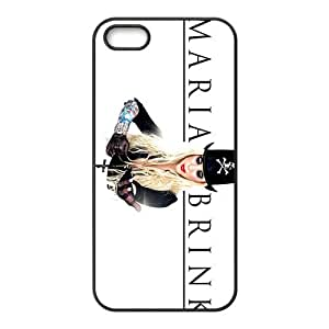 Happy Maria Brink Fashion Comstom Plastic case cover For Iphone 5s