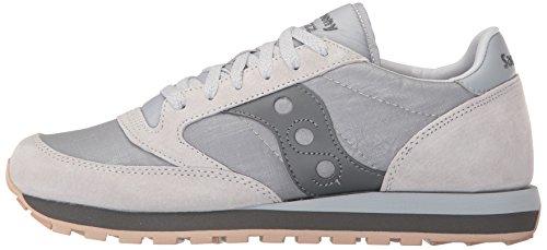 Gry S70353 2018 Pelle Grigio Saucony Lacci Sneakers Inverno Windbreaker Jazz 01 w7qXA0a