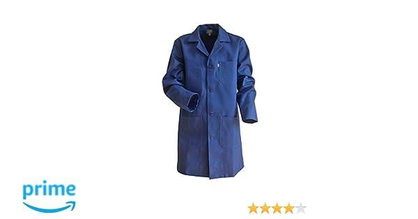 LMA - Bata de mecánico, 100 % algodón, color azul, azul, 700741 LIMEUR: Amazon.es: Bricolaje y herramientas