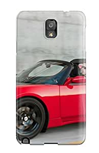 Best 8102433K63189713 Perfect Tpu Case For Galaxy Note 3/ Anti-scratch Protector Case (tesla Roadster 4)
