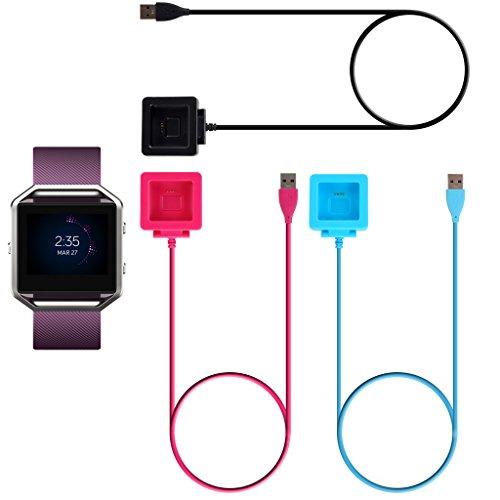 Cable de Carga USB Cargador para Fitbit Blaze Pulsera Reloj Inteligente: Amazon.es: Electrónica