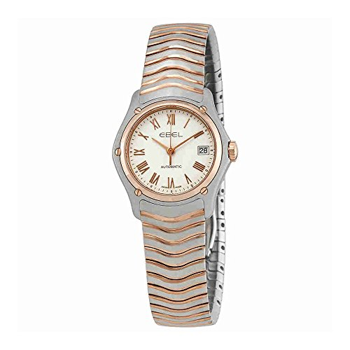 Ebel Classic Automatic White Dial Ladies Watch 1215926